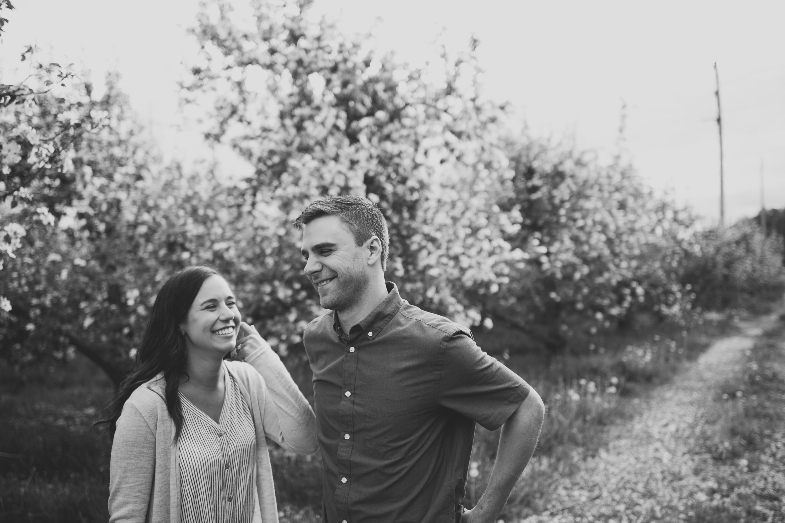 Grand Rapids Photographer - grand rapids wedding photographer - brian and katie engaged - apple blossoms - engagement session - jessica darling - sparta michigan - michigan wedding photographer- J Darling Photo005.jpg