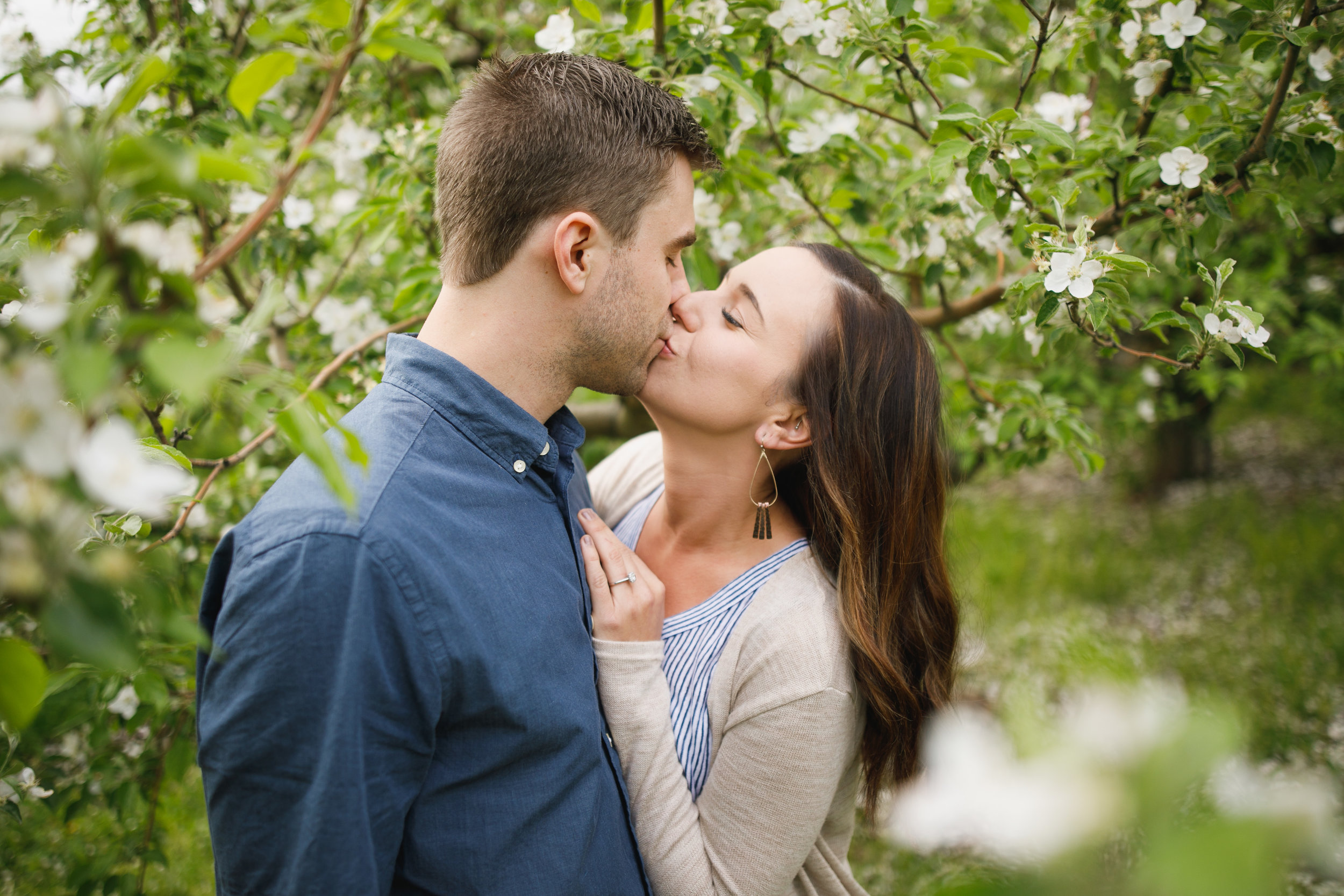 Grand Rapids Photographer - grand rapids wedding photographer - brian and katie engaged - apple blossoms - engagement session - jessica darling - sparta michigan - michigan wedding photographer- J Darling Photo008.jpg