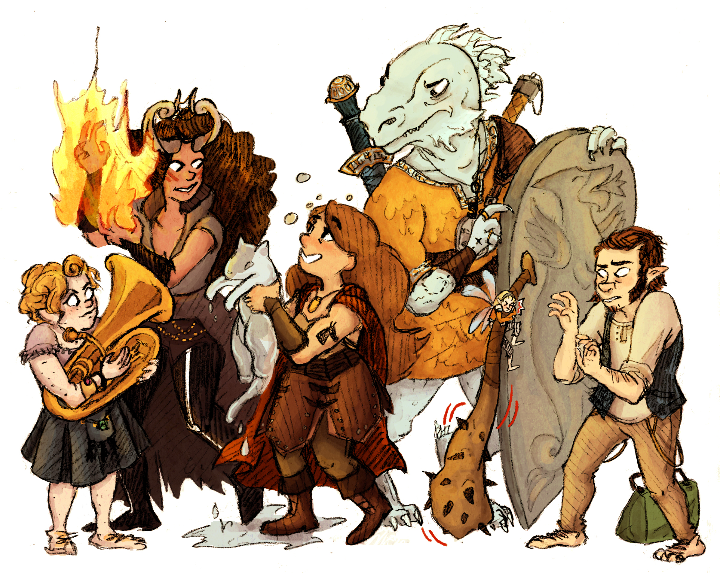 Adventuring Party 1