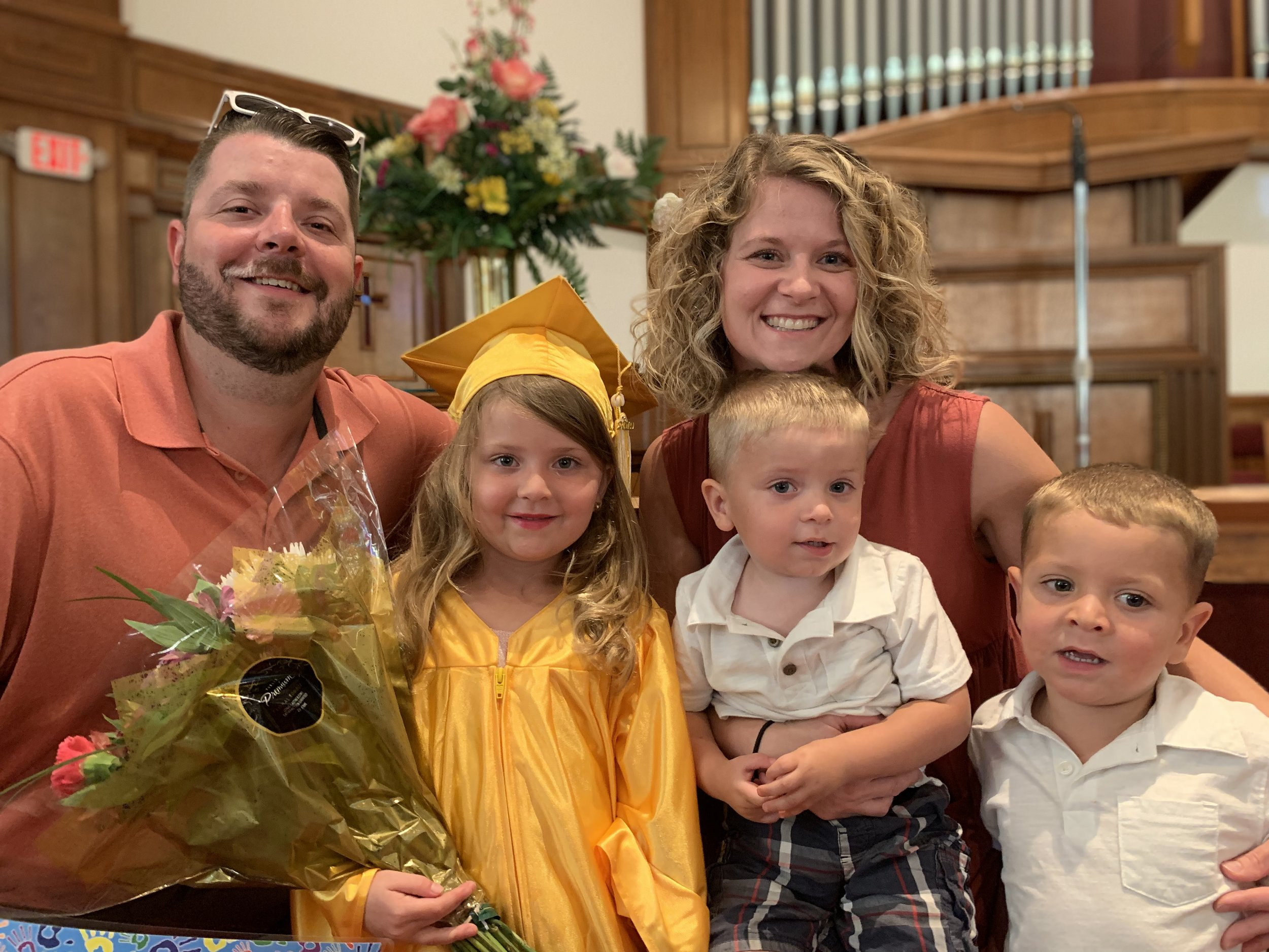Congratulations to our VPK Graduating Class of 2019! Our graduates are ready for kindergarten and we can't wait to see what God has in store for them in elementary school!