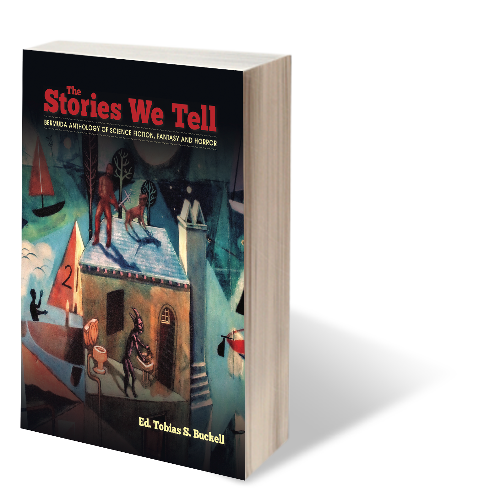 The Stories we tell: Anthology of science fiction, fantasy and horror - My speculative fiction short story