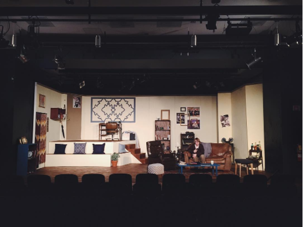 The set of  Play It Again, Sam  (Mainstage, Spring 2016)