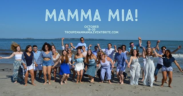 Our first show of the season, MAMMA MIA, is just a few short weeks away! Get your tickets now, link in our bio! And don't forget to follow @troupemammamia on Instagram, Twitter and Facebook!