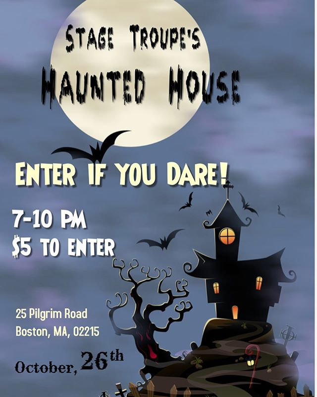 In the midst of the excitement of our first show of the season, don't forget about our upcoming HAUNTED HOUSE special project! Eventbrite coming soon 🎃🧙🏻♀️👻💀🔮