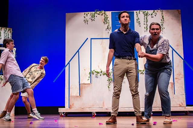 Happy Opening to MAMMA MIA! Our first performance is tonight at 8PM in the Tsai Performance Center. Get your tickets now and kick off Family and Friends Weekend with us! Tickets available at troupemamma mia.eventbrite.com 📸: @robertbranning