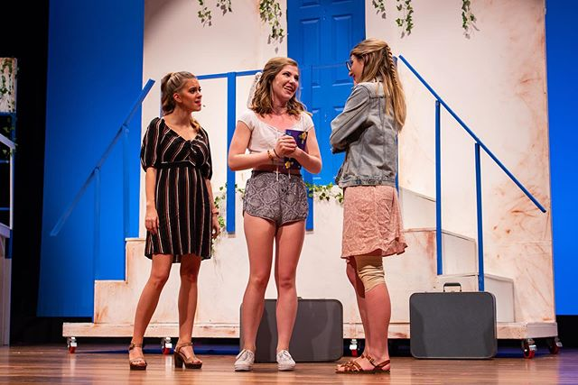 Thank you to all who came out to our first performance of MAMMA MIA last night! You still have two chances to see it: tonight at 8PM and tomorrow at 2PM! Tickets can be purchased at the link in our bio