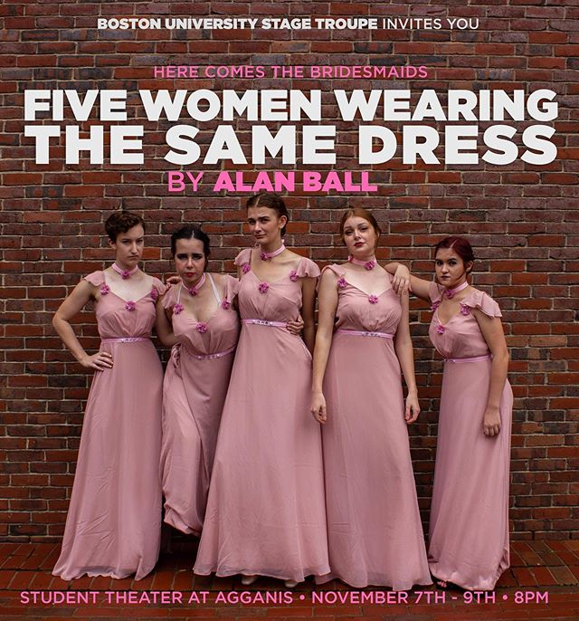 Our next show of the season, FIVE WOMEN WEARING THE SAME DRESS, opens in just a few short day!! Haven't gotten your tickets yet? You should definitely get on that, you won't want to miss the wedding of the season! Ticket link in our bio 👗👗👗👗👗