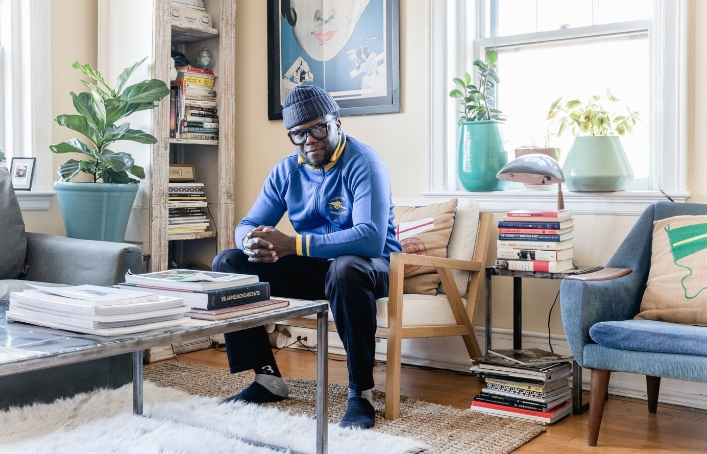 Kazeem Lawal - Sartorialist, entrepreneur, man about townPortland, Maine