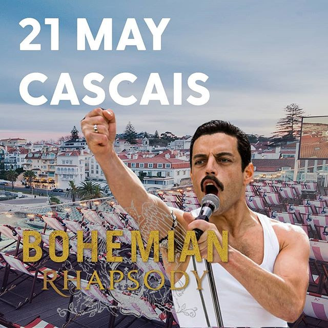 The limited tickets for our opening event in Lisbon are already sold out! 😮  But no worries, we have another excellent opportunity to celebrate the music of Queen, the extraordinary life of their lead singer Freddie Mercury, and the amazing performance of Academy Award winner Rami Malek!  On the 21st of May, Hotel Baía Cascais is the place to be! 🥂  Get your tickets right now or check out the complete May & June schedule on our website and book seats for your favorite movie!  Link in bio 🔗