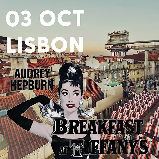 "Our previous screening of fan-favorite ""Breakfast at Tiffany's"" at Hotel Baía Cascais was completely sold out, and ticket sales for the upcoming Lisbon event are also selling fast! 🍎⠀ ⠀ 75% of the tickets for the event of this Thursday, 3rd of October, are already sold so be quick to book your tickets before it's too late! 🎟️⠀ ⠀ ""Breakfast at Tiffany's"" is next up Thursday evening 20.00 at the rooftop terrace of Topo Chiado. Buy tickets online now, link in bio 👆"