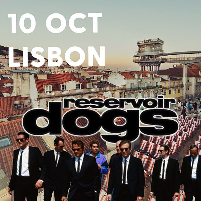 "With just 3 days to go, 75% of the tickets for our upcoming screening of ""Reservoir Dogs"" have already been sold! 🎟️⠀ ⠀ Quentin Tarantino's first feature-length movie is about a small-time crime boss who brings together a group of five thieves to steal a lot of diamonds. 💎 When the police arrive at the scene, it becomes clear that one of them is an undercover police officer. 👮⠀ ⠀ Next up this Thursday evening 20.00: ""Reservoir Dogs"" by Quentin Tarantino, starring Tim Roth, Michael Madsen, Harvey Keitel, and Steve Buscemi! ⠀ Get your tickets now before it's too late and join us for this classic at the rooftop terrace of Topo Chiado!"
