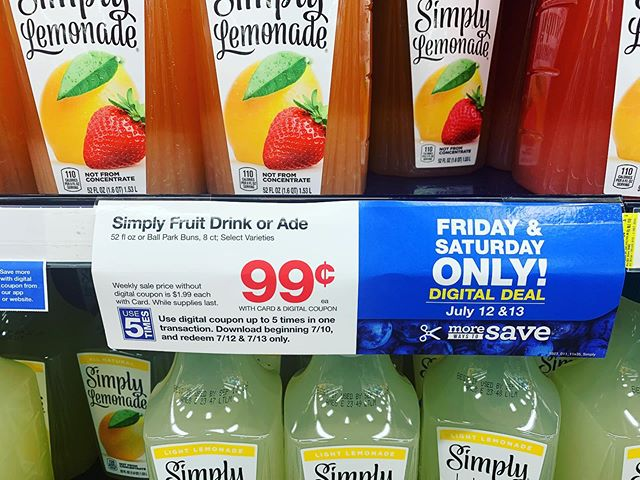 I don't know who needed to see this...but; you're welcome! #simply #coupons #cocacola #kroger