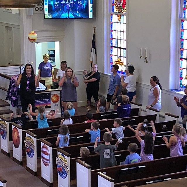Great first day at May Memorial's Vacation Bible School!