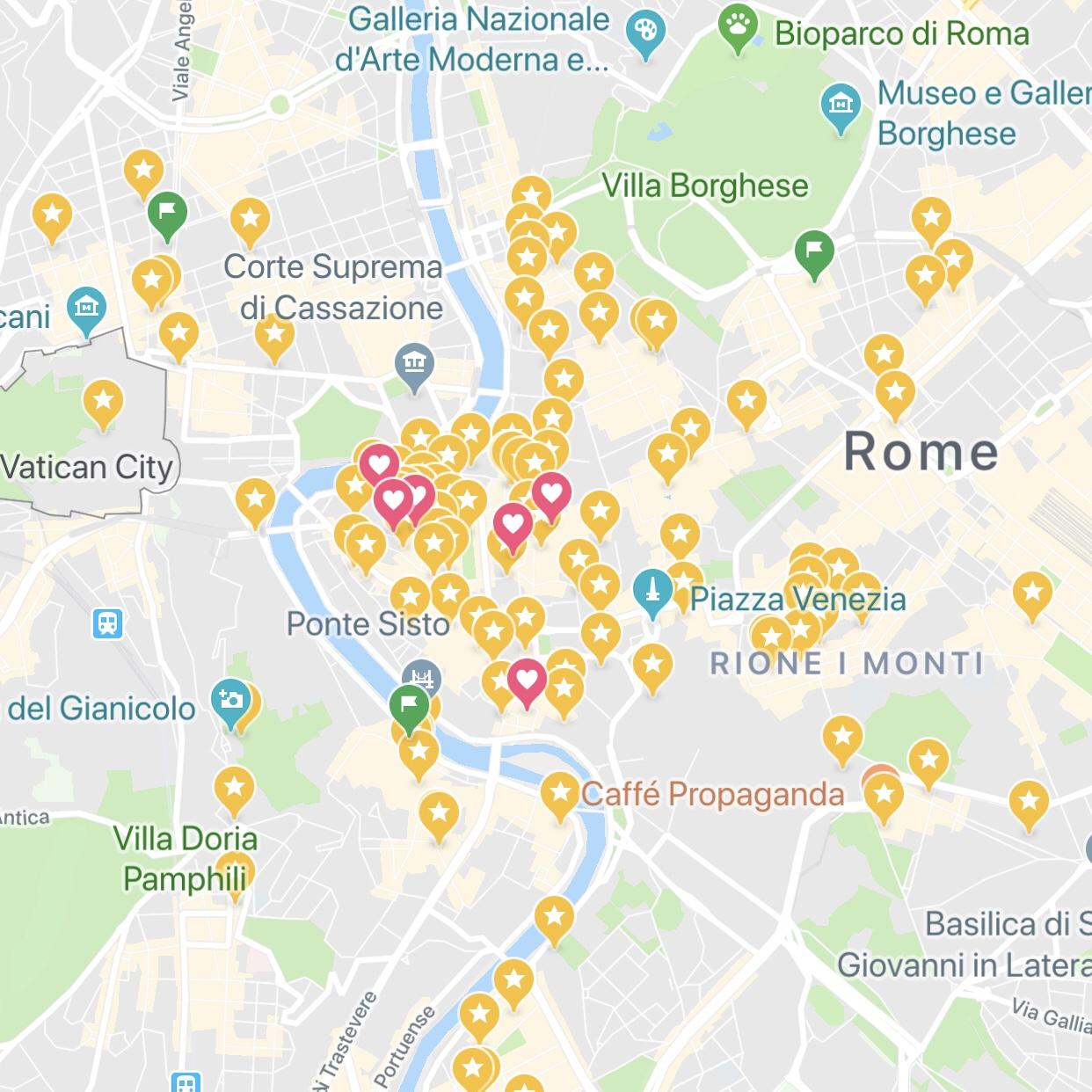 Noteworthy Locations Rome Italy