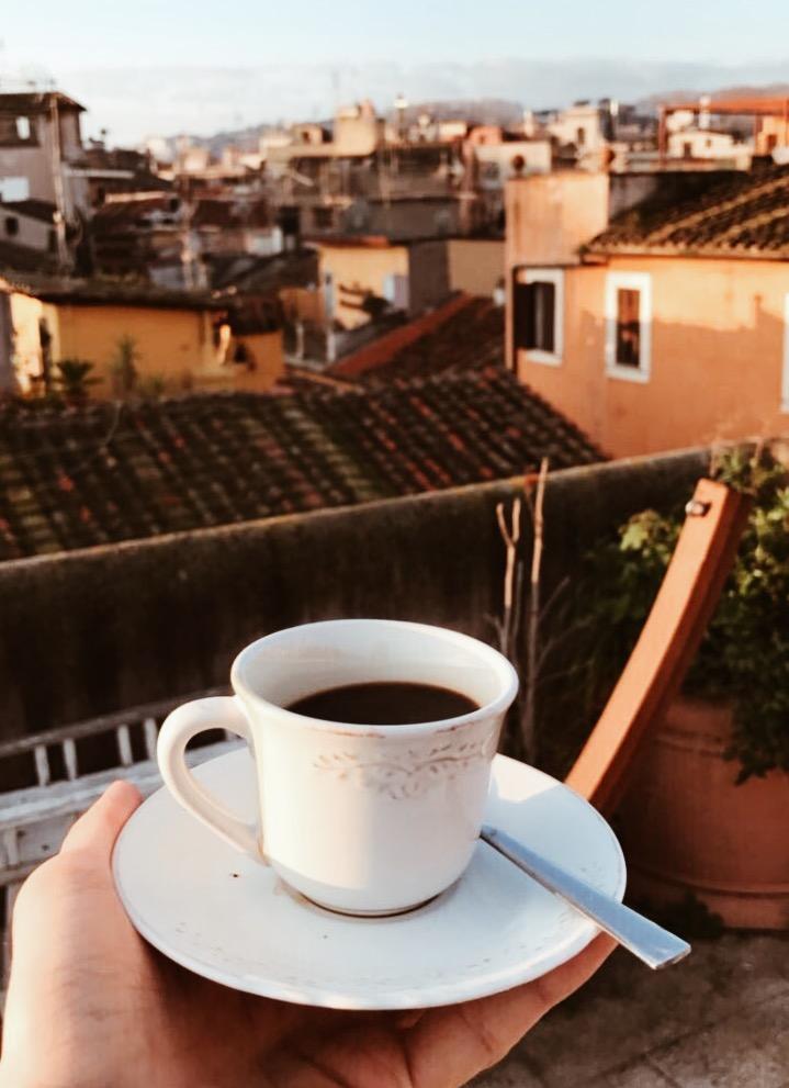 Rooftop garden Rome