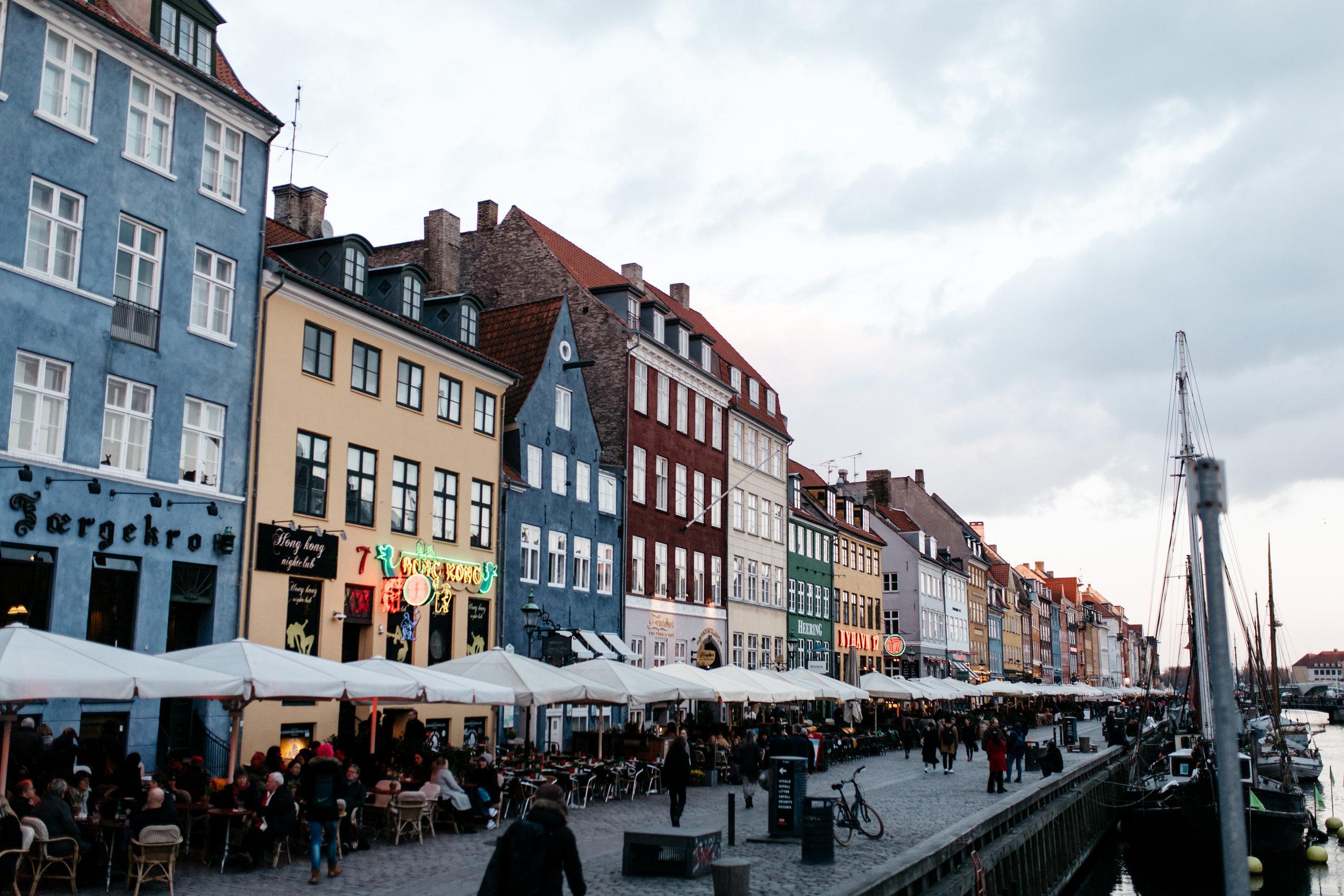 Nyhavn Restaurants