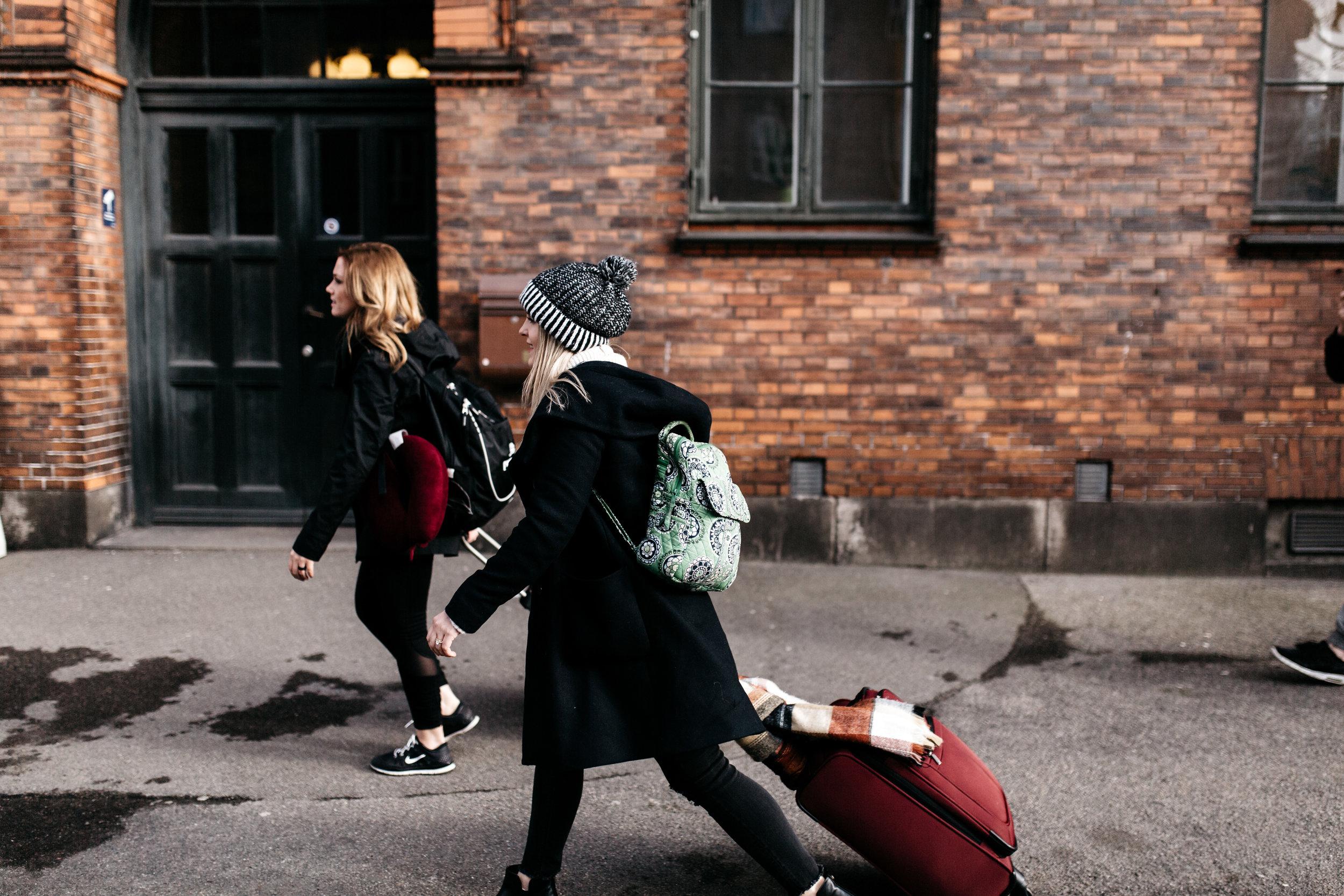 Walking through Copenhagen