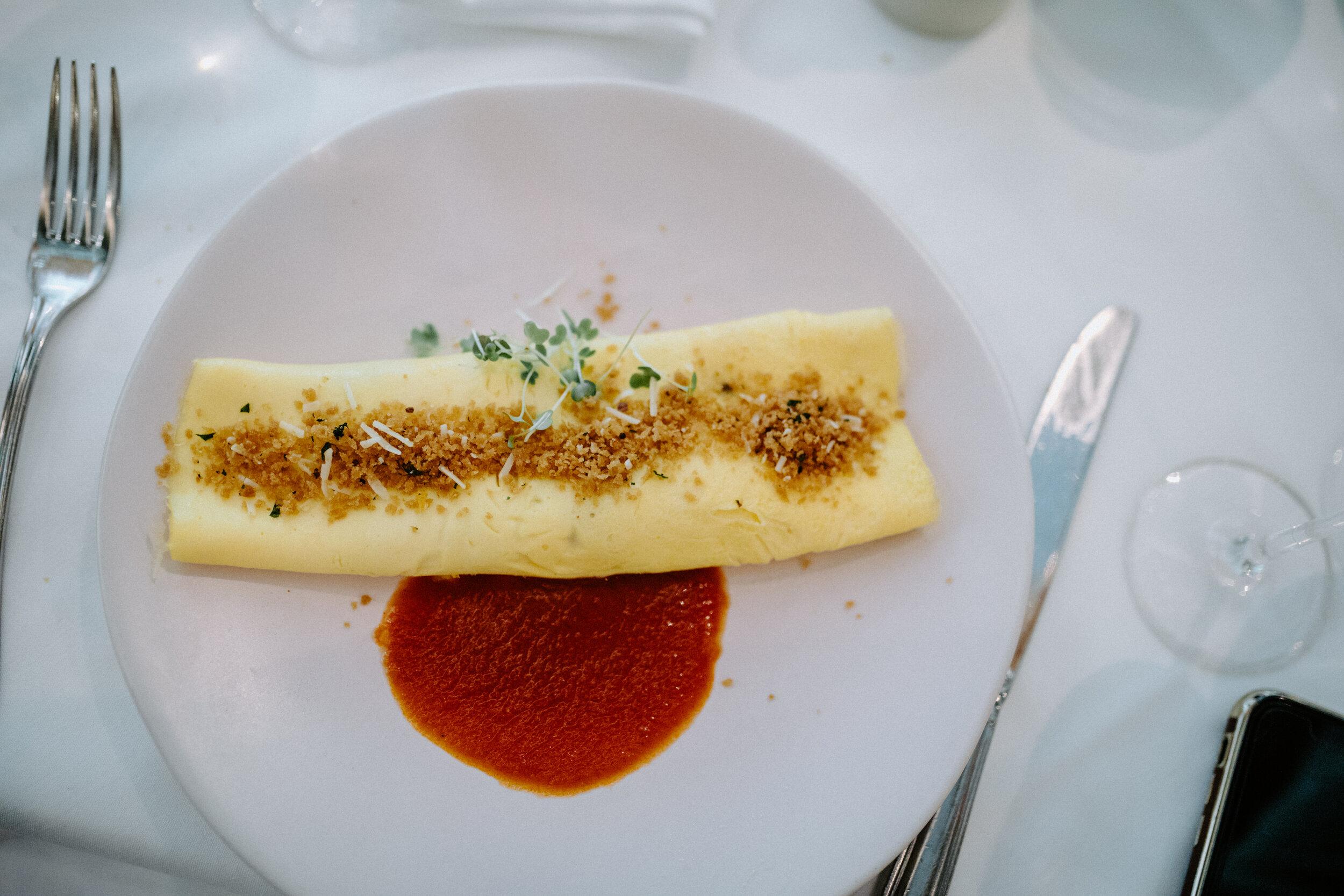 Crab Omelette at Brennan's New Orleans Brunch.JPG