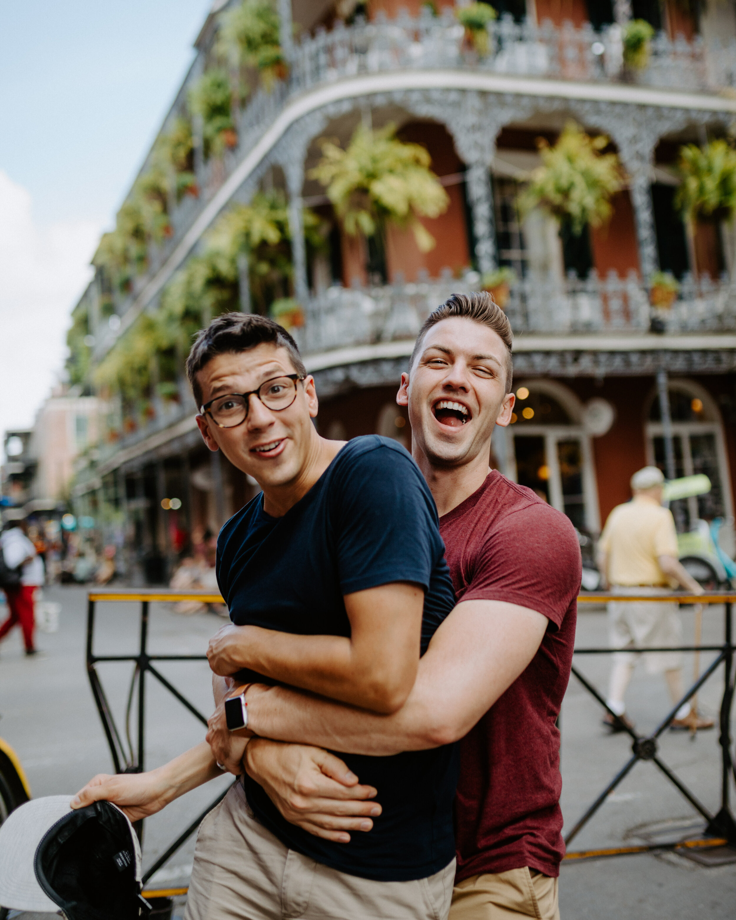 Exploring the French Quarter in New Orleans