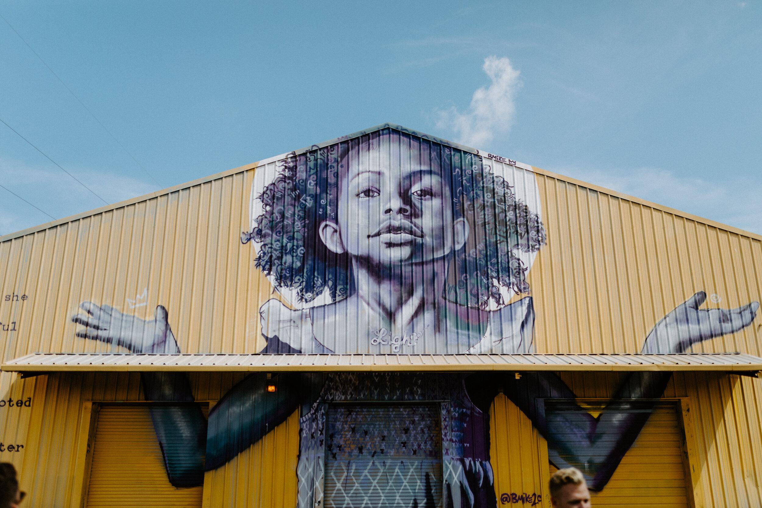 New Orleans Street Art on Plessy Way