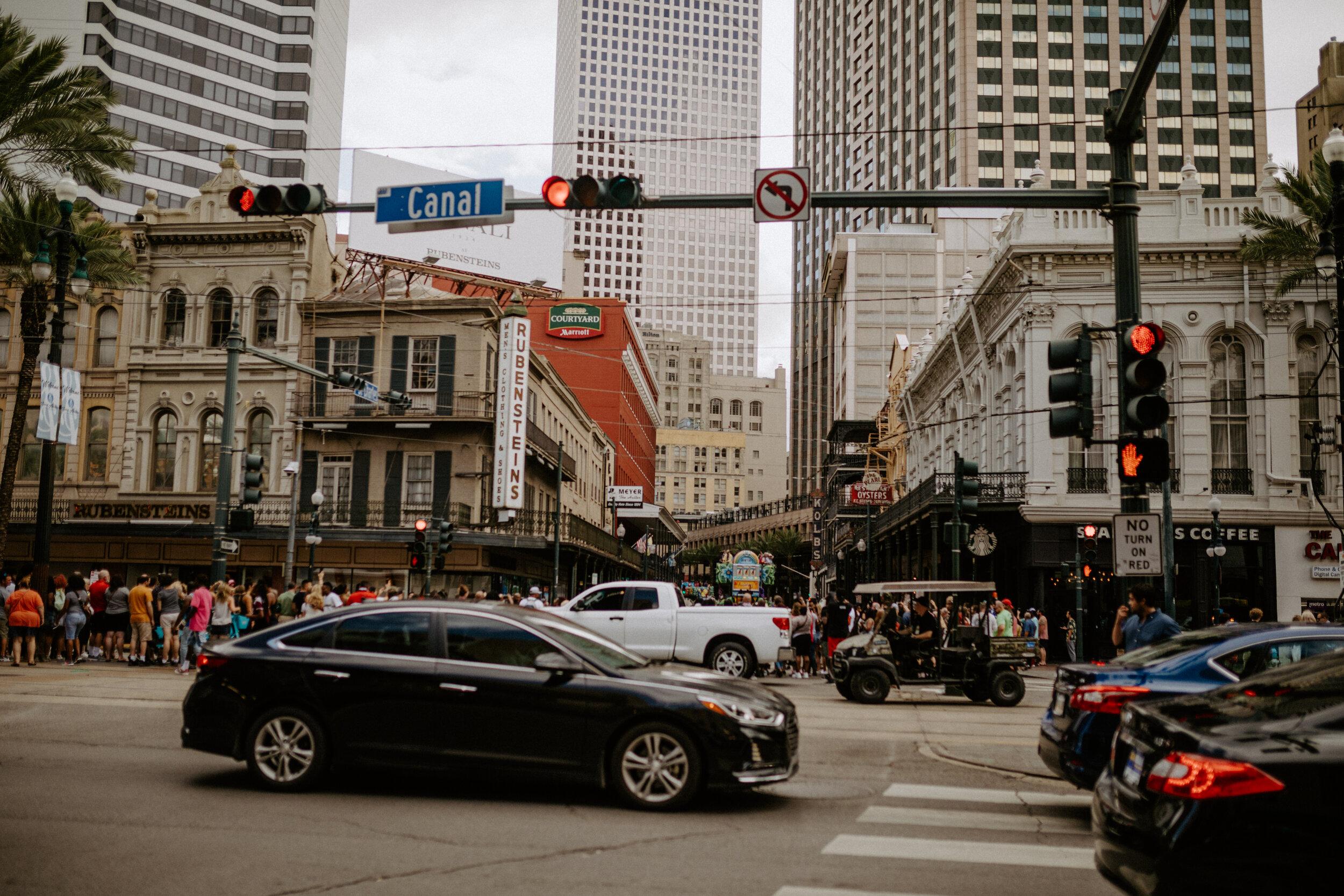 Canal street New Orleans Louisiana.JPG