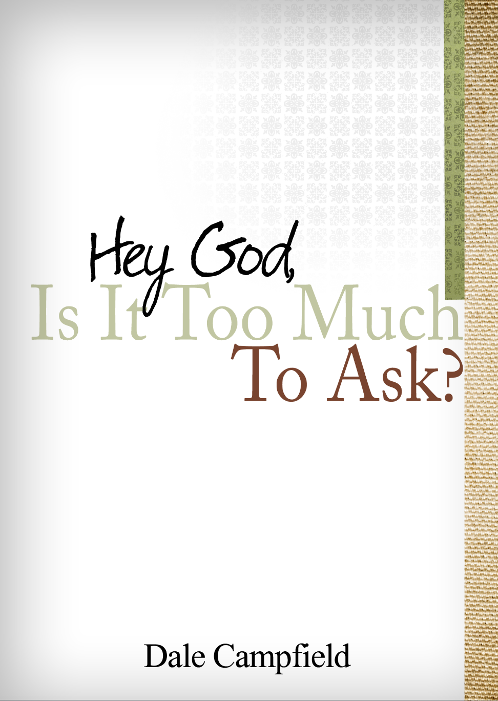Hey God, Is It Too Much To Ask? - God says in His Word that we can ask Him for anything in His name; and if we ask and believe, He will answer that prayer.  If that is true, then when we find ourselves in the trials and heartache of life, is it too much to ask Him to be there for us?  Is it too much to ask Him to relieve us from the pain of sickness and the grief of a dying family member?  Is it too much to ask Him for a miracle that we have been waiting on for years? The answer is no – it's not too much to ask!  With that being the case, then this is a book you will want to read.  Hey God, Is It Too Much to Ask? is about hope in the midst of a world of pain and the uncertainties of life that people find themselves in. Don't give up. Keep asking. And as you do, you watch… you wait… you'll see!