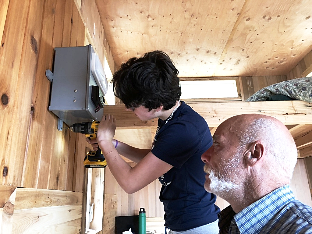 Dylan Audley Installing JuiceBox