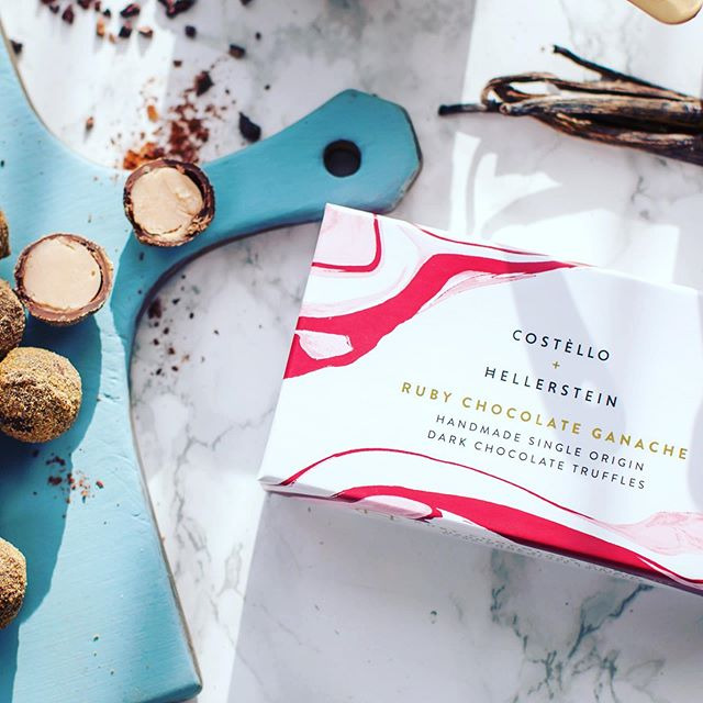 Ruby Tuesday #rubychocolate #chocolatetruffles #pastrychef