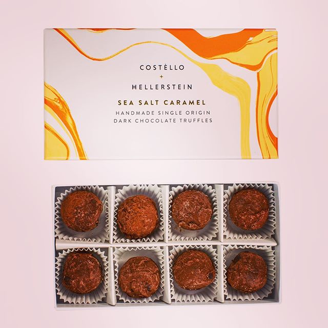 """These look so inviting.  There are murmurs of appreciation from around the table.  The caramel is deep and rich and just salty enough, the chocolate powerful and dark enough to balance the whole.  Yum!"" 🌟🌟 #greattasteawards 2019 Judges comments 😁 @guildoffinefood @maldonsalt #seasaltcaramel #chocolatetruffles #bestgiftever"