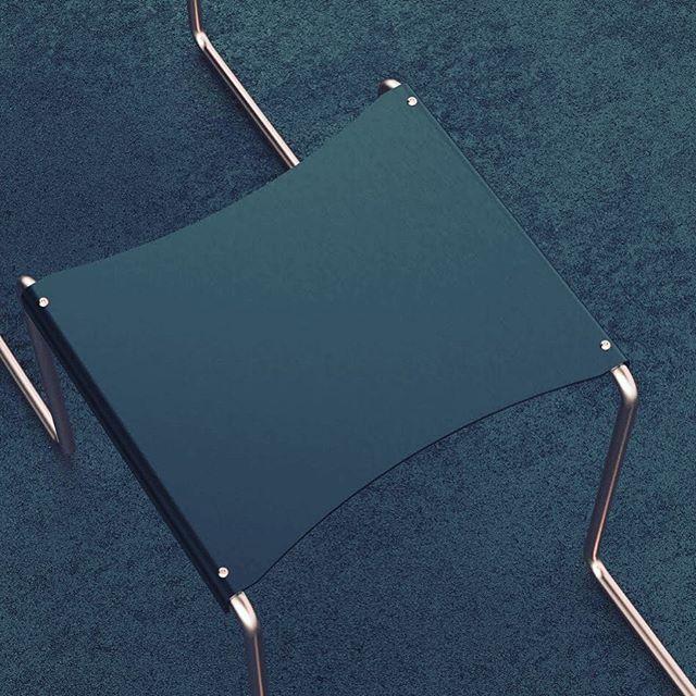 Bent tubing seating details #2  #solidworks #rendering #productdesign #keyshot #design #industrialdesign #furniture #furnituredesign #minimalism #simplicity #seating #modern #modernfurniture #modernfurnituredesign