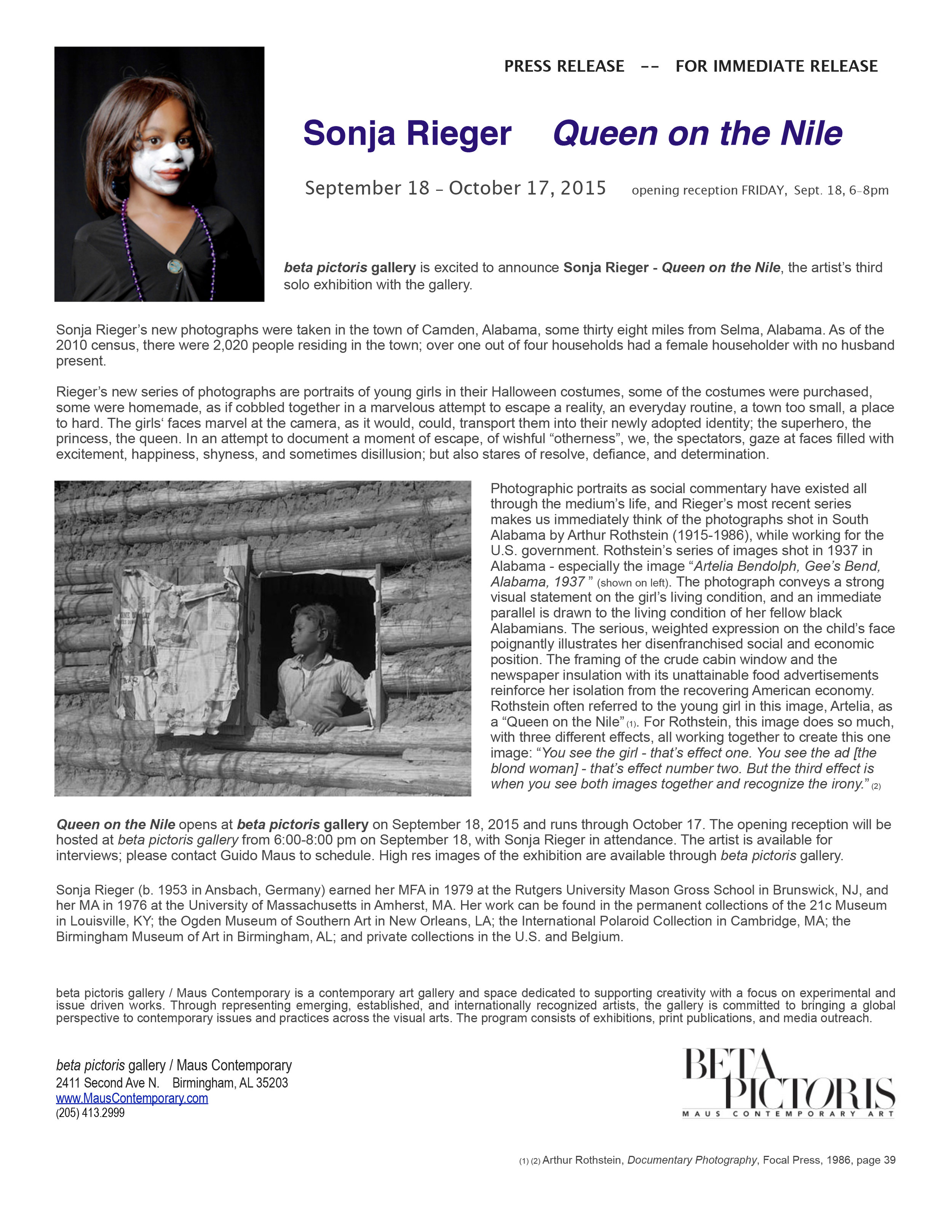 PRESS RELEASE Sonja Rieger - Queen on the Nile[8] copy.jpg