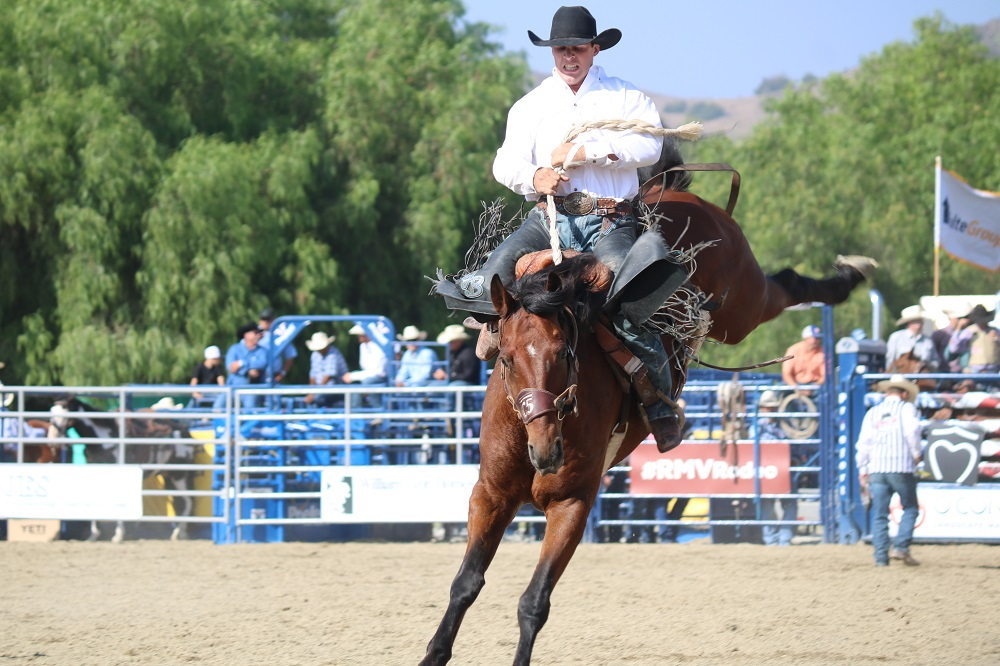 18th Annual Rancho Mission Viejo Rodeo Wows Audiences - Visitors from near and far packed the Rancho Mission Viejo Riding Center at San Juan Capistrano to see contestants participate in feats of skill and stamina for the 18th Annual Rancho Mission Viejo Rodeo.The audience cheered and clapped as cowboys maintained their composure on bulls and horses that leapt high into the air, or when one of those cowboys roped off a calf in seconds.