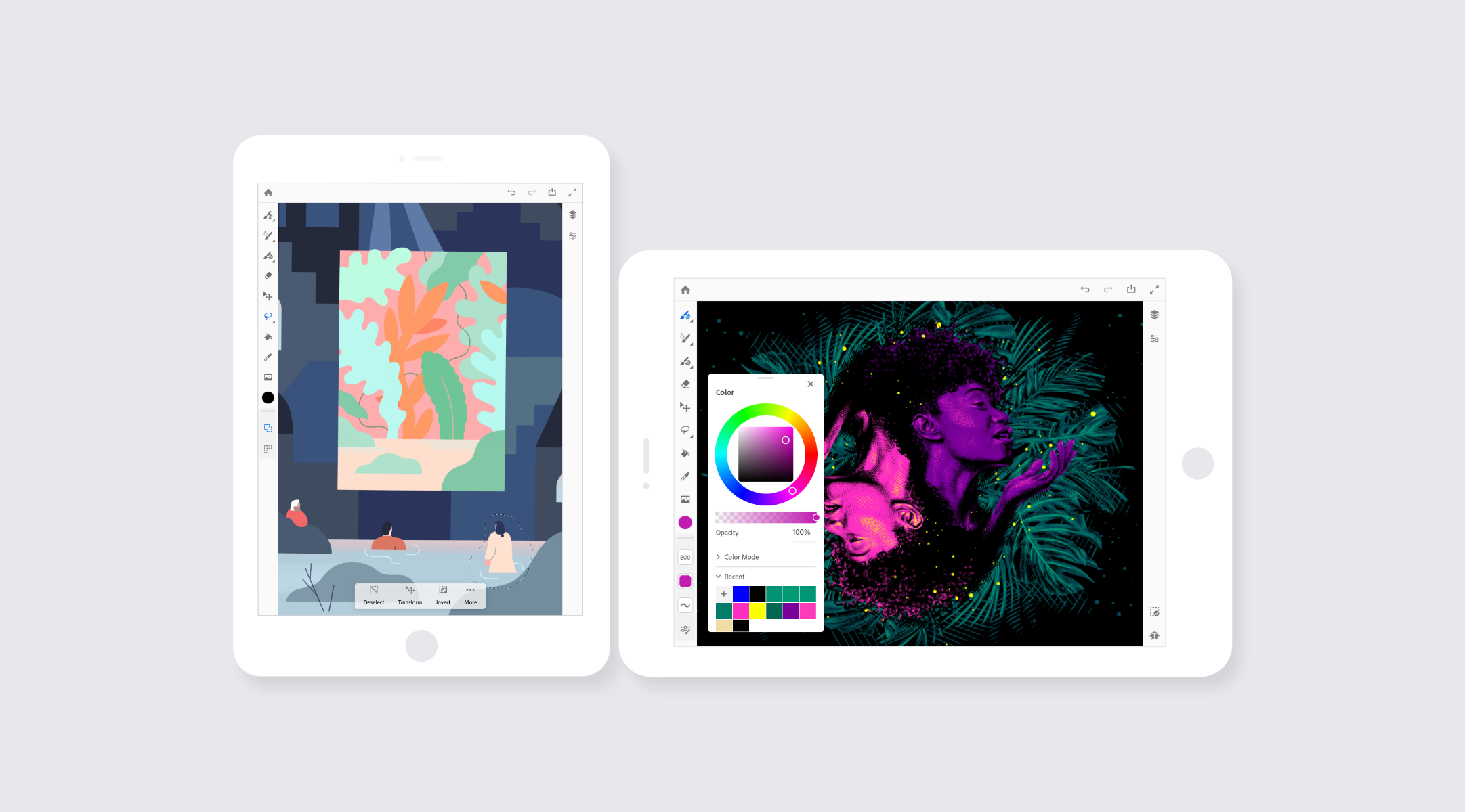 Project Gemini  /   Adobe, iOS App