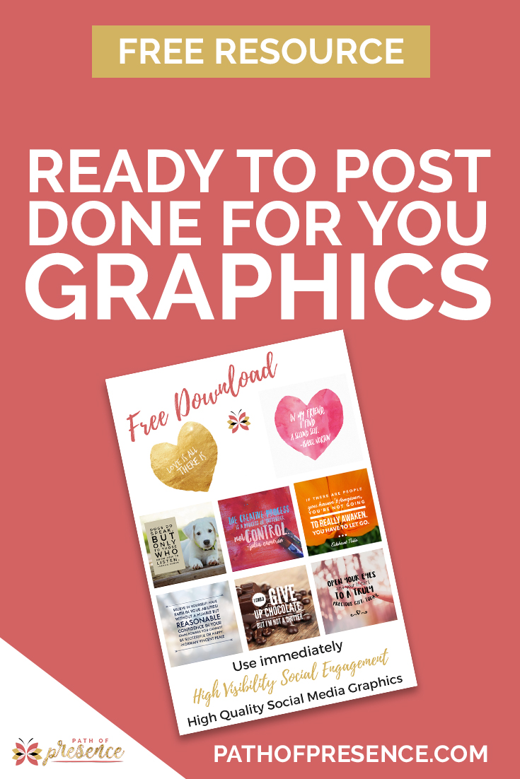 Path of Presence Done for You Free Graphics