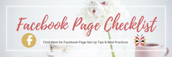 Facebook Page Checklist - Free Download / SMM // Social Media Marketing // Social Media Tips // Facebook Page Tips, Checklist and shortcut