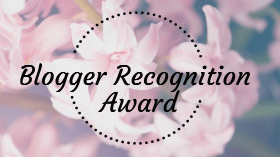 BLOG:  Nominations and Acceptance for the 2017 Blogger Recognition Award - Path of Presence