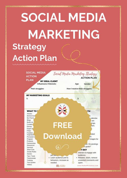 SAocial Media marketing Strategy Action Plan | Path of Presence