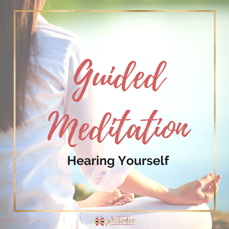 Being Heard - Meditation on Listening - Step by Step - hear what you need to know