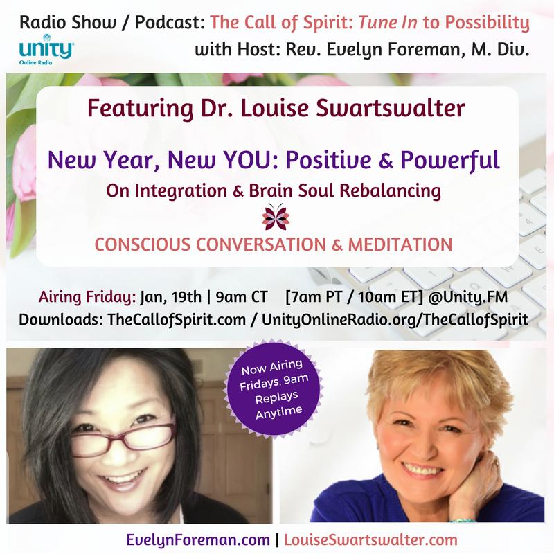 Louise Swartswalter - Brain expert - The Call of Spirit - Evelyn Foreman
