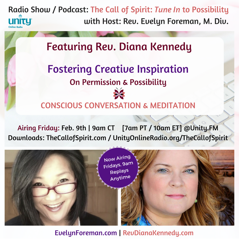 Revs Evelyn Foreman & Diana Kennedy :: Creative Inspiration - Giving Yourself Permission to lean in to the possibility