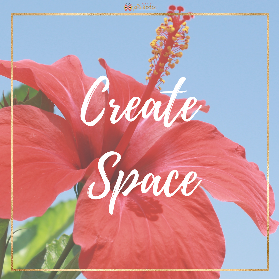 """Create Intentional Space :: Path go Presence :: Self Care:: In the midst of the large & the small, Everyday life still needs to unfold. 🌻 💫I love it when I arrive at a day that I have been planning and looking forward to. I've accomplished what I """"NEED TO"""" do this week.  Now, I """"GET TO"""" do something that I consider self-care."""