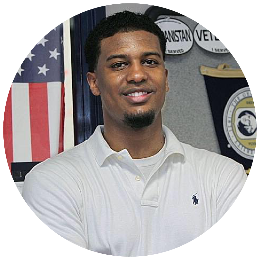 """Emanuel Johnson - Mentor for 1 yearGeorge Washington University""""If it wasn't for the mentors in my life, I am not sure where I would be. Being a mentor for Chicago Scholars allows me an opportunity to truly be there for Scholars when they need the most help. Applying to colleges is an extremely daunting task, and having a mentor can be very beneficial. What I like most is that I am able to be with these Scholars their senior year of high school and also their first year of college."""""""