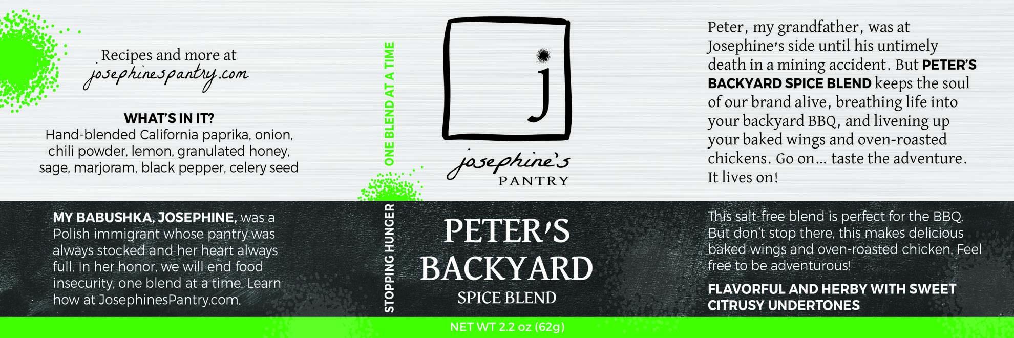 Josephines Pantry Peter's Backyard.jpg