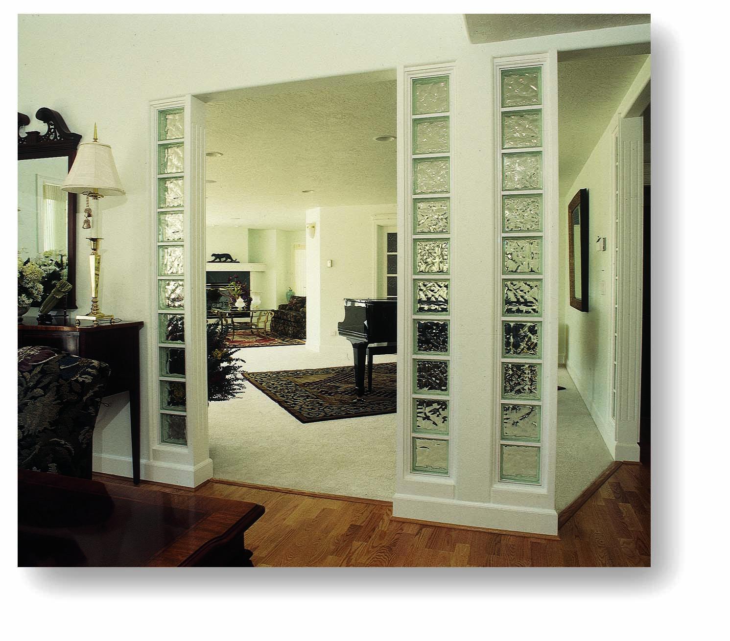 - glass block interiors