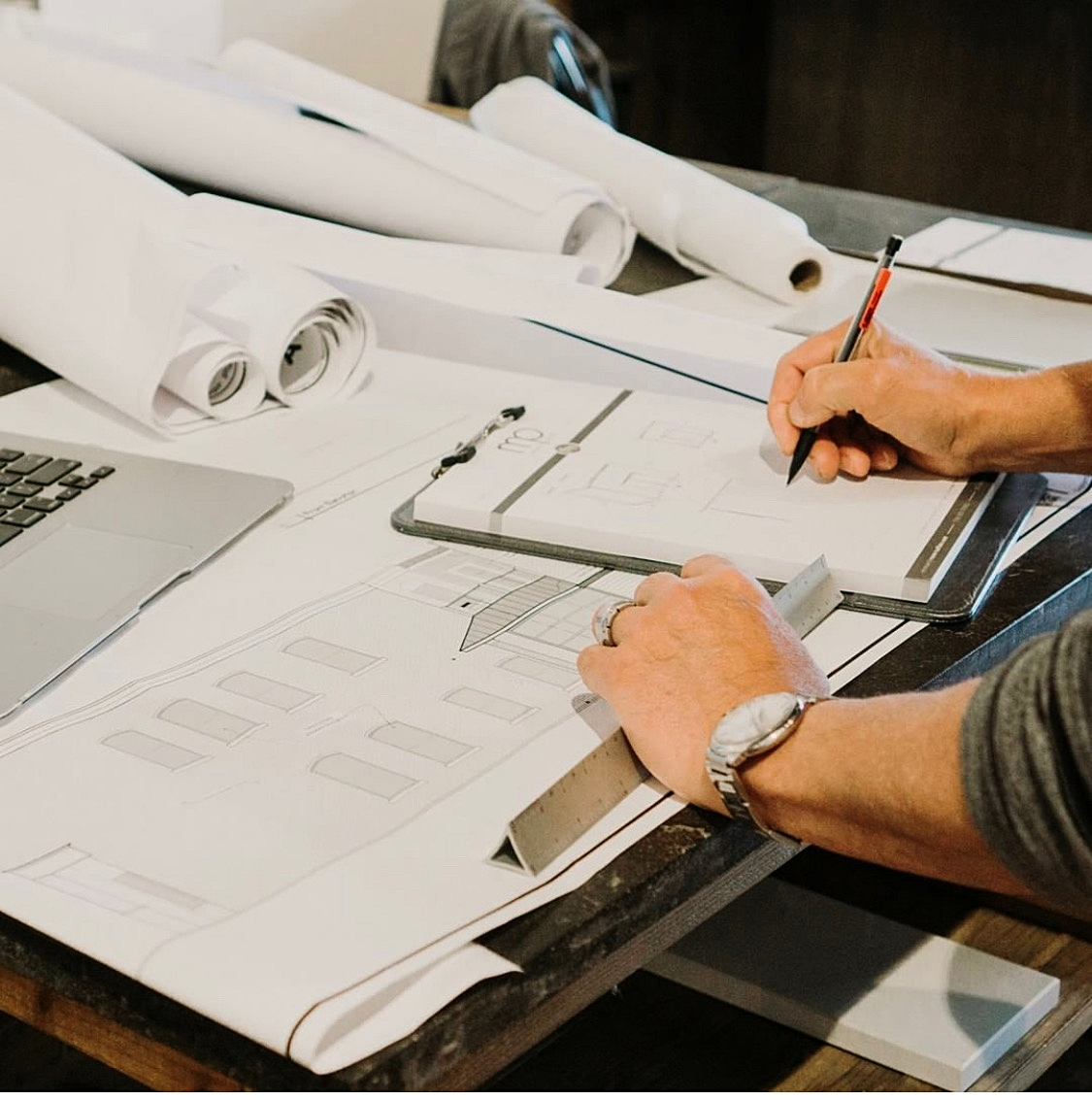 Design Process - Peak into the step-by-step process we take in designing your perfect space. Every beautiful design is the culmination of multiple steps, drawings and moving parts.