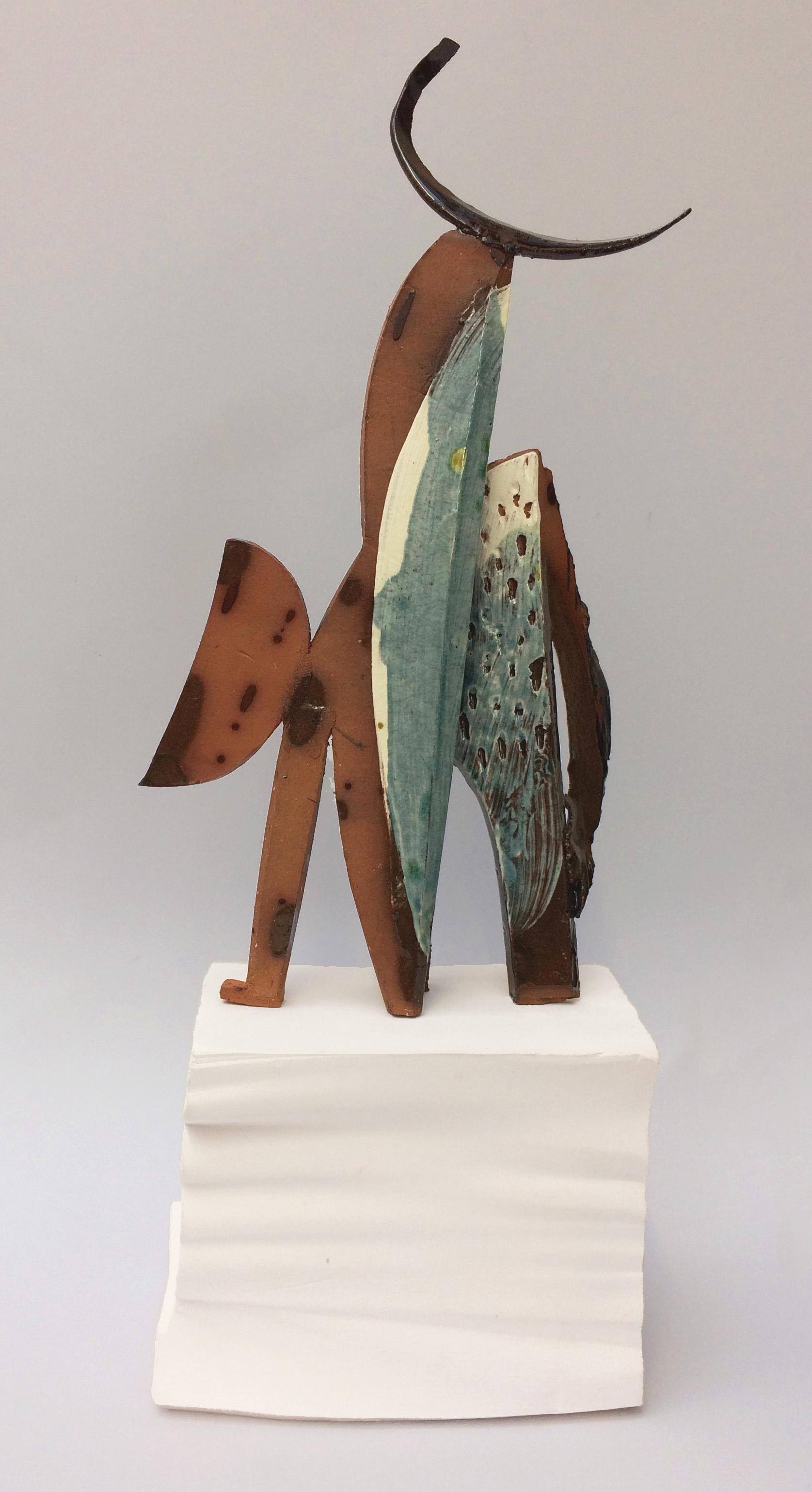 Tall Minotaure - H 25cm x W 15cm