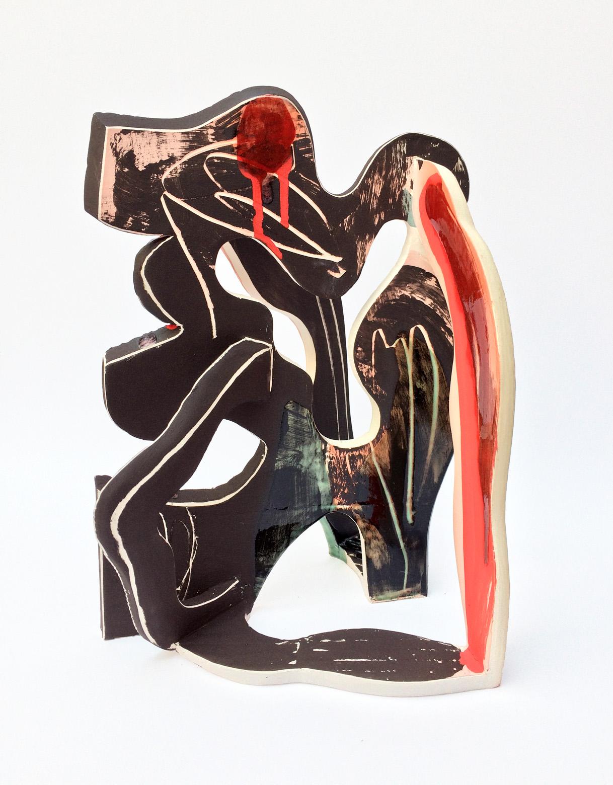 Composition 2 - H 30cm x W 23cm