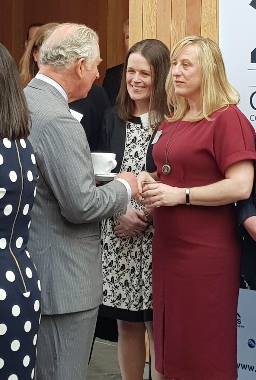 Lake District Mobility Meeting Prince Charles at Windermere Jetty Opening