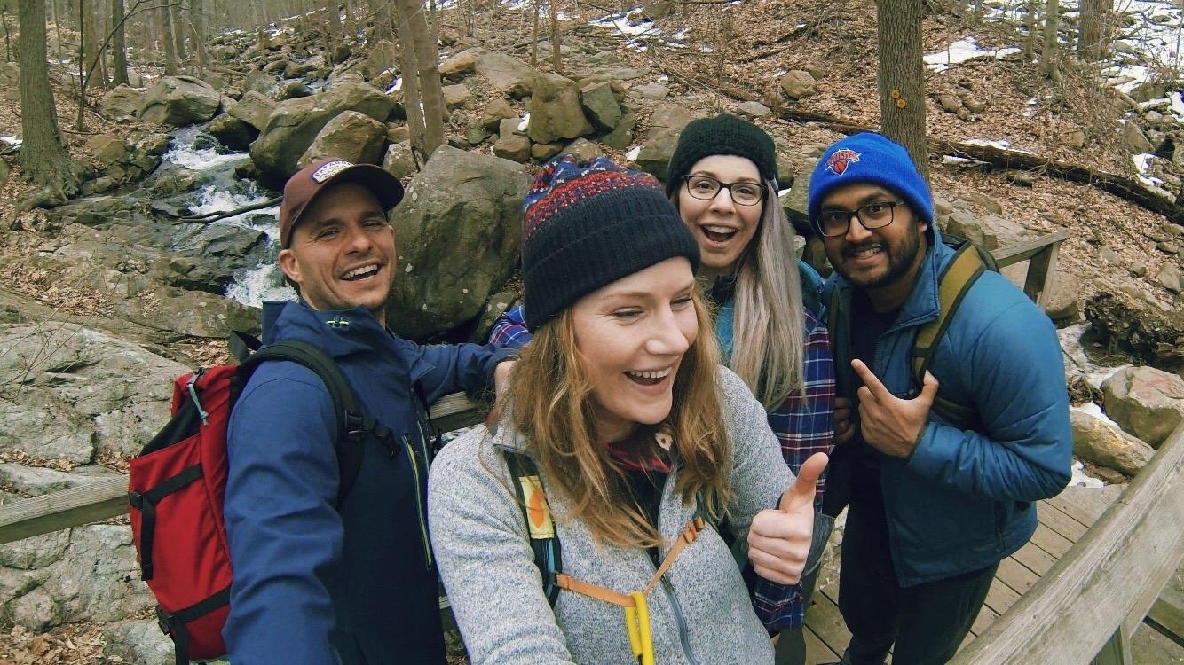 The Weekend Warriors:  @hike_the_planet ,  @iamjess326 , &  @solodoio