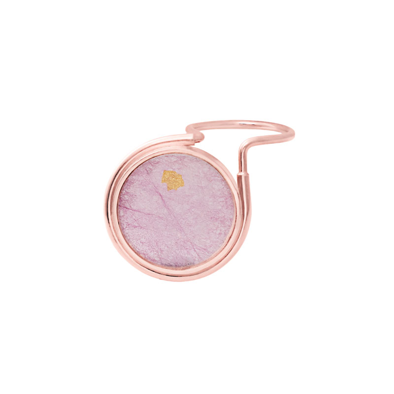 The Rose Tint Tinted Ring Rose Gold Pink